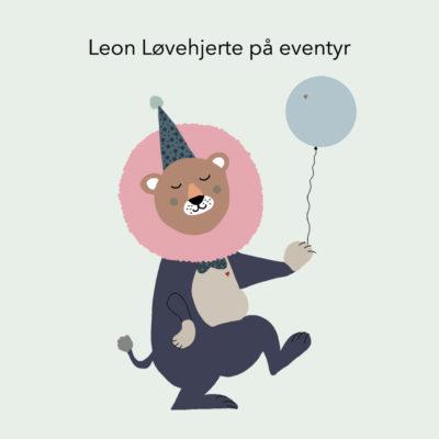Leon Løvehjerte på eventyr - få historien her