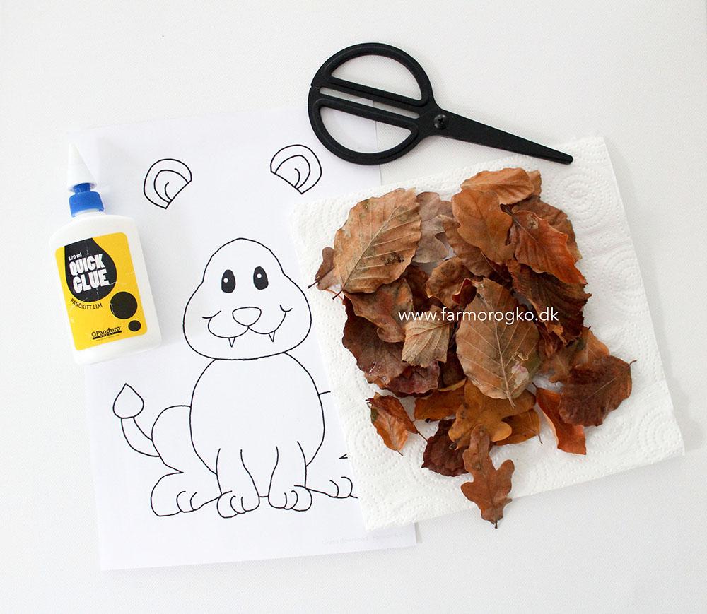 Sådan bruger du løve tegningen